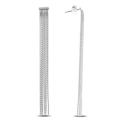 Chandelier Chain Earrings in .925 Sterling Silver