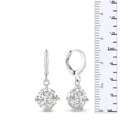 5 Carat Swarovski Elements Crystal Drop Earrings