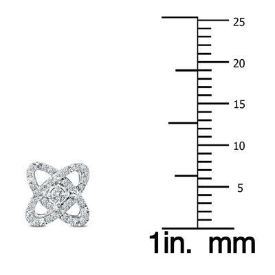 1/4 Carat TW Diamond Stud Earrings in .925 Sterling Silver