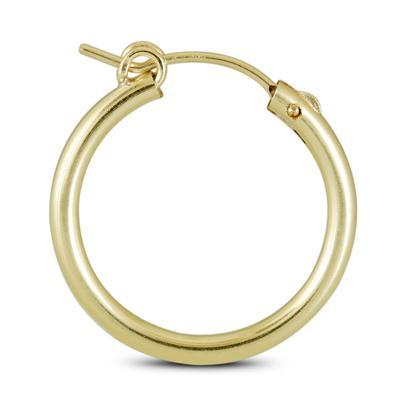 14K Yellow Gold Filled Hoop Earrings (22mm)