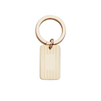 Gold Polished Key Ring