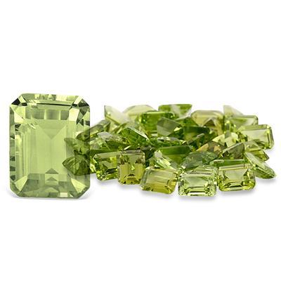 1.80 Carat Emerald Cut Peridot Gemstone