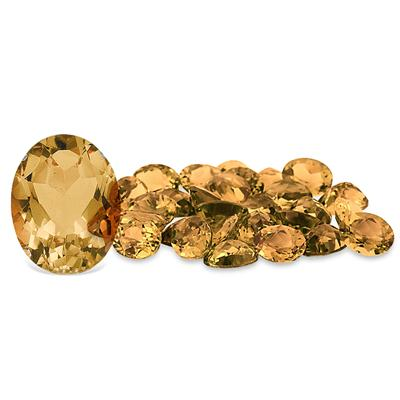 1.10 Carat Oval Citrine Gemstone