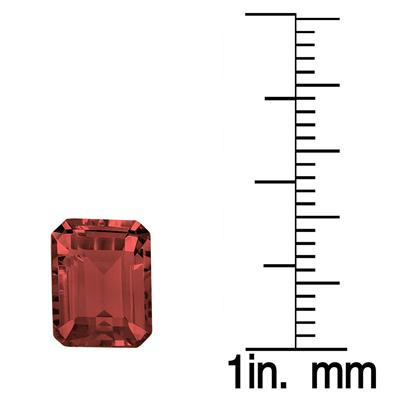 3.80 Carat Emerald Cut Garnet Gemstone