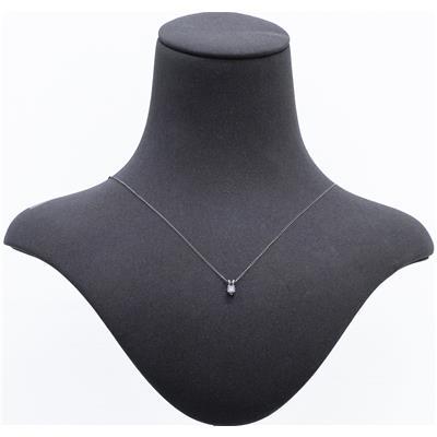 1/7 Carat Diamond Solitaire Pendant in .925 Sterling Silver