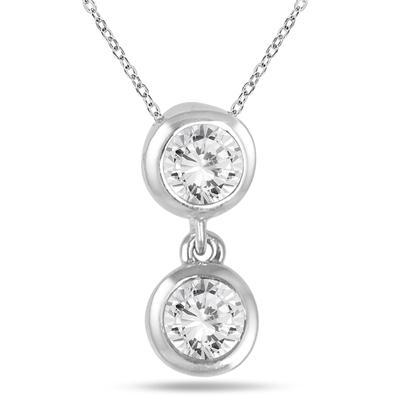 12 carat two stone diamond pendant in 14k white gold pdf562471 12 carat two stone diamond pendant in 14k white gold aloadofball Gallery