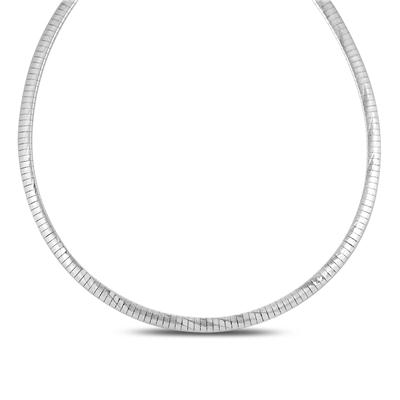Choker Necklace in .925 Sterling Silver