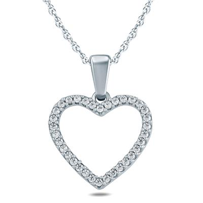 16 carat tw diamond heart pendant in 10k yellow gold pdf57560 16 carat tw diamond heart pendant in 10k yellow gold mozeypictures Image collections