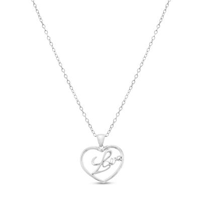 Diamond Love Heart Pendant