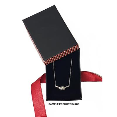 Ted Poley Miss Your Touch Interlocking Hand Necklace in  .925 Sterling Silver