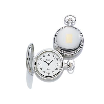 23k Rhodium Electroplated Pocket Timepiece