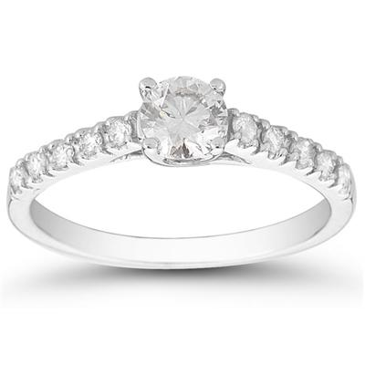 3/4 Carat TW Diamond Ring in 14K White Gold