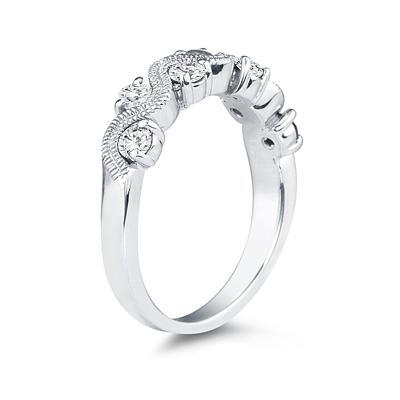 1/2 Carat TW White Diamond Women