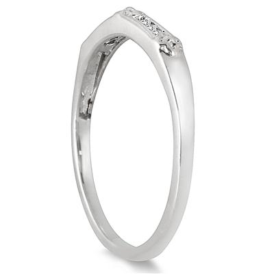 Diamond Flower Ring in .925 Sterling Silver