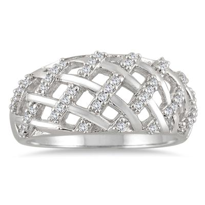 1/4 Carat TW Diamond Ring in 10K White Gold