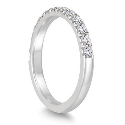 3/8 Carat TW Diamond Ring in 14K White Gold