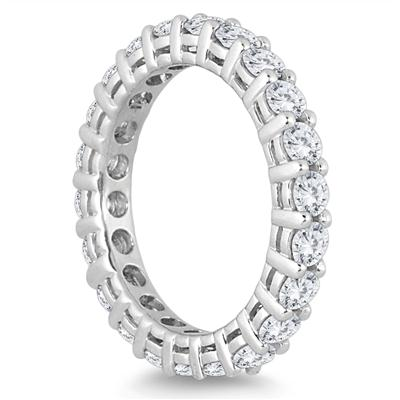 2 Carat TW Diamond Eternity Band in 14K White Gold