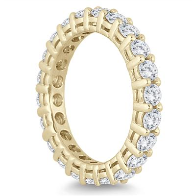 14K Yellow Gold Diamond Eternity Band (1.90 - 2.40 CTW)