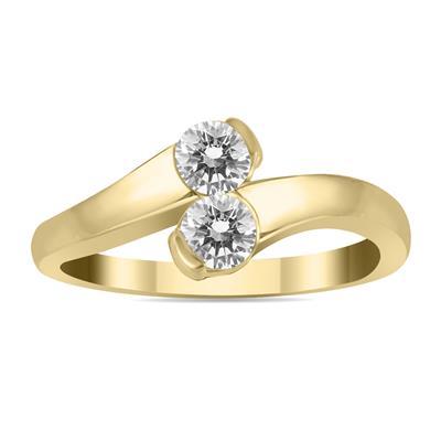 Resultado de imagen para two stone rings