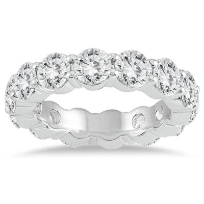 AGS Certified Diamond Eternity Band in 14K White Gold (5.85 - 6.75 CTW)