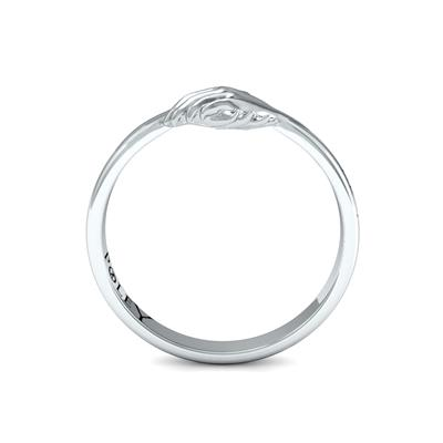 Ted Poley Miss Your Touch Hand in Hand Ring in .925 Sterling Silver