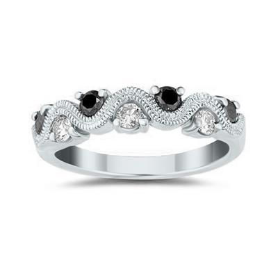 Black & White Diamond Women