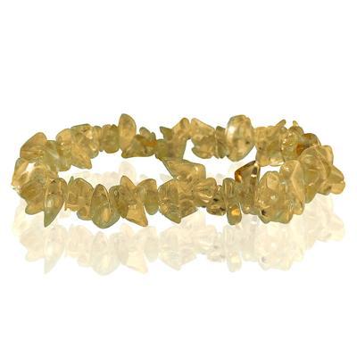 35 Carat All Natural Uncut Genuine Citrine Bracelet
