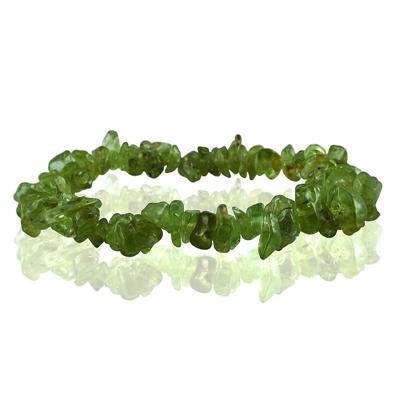 35 Carat All Natural Uncut Genuine Peridot Bracelet