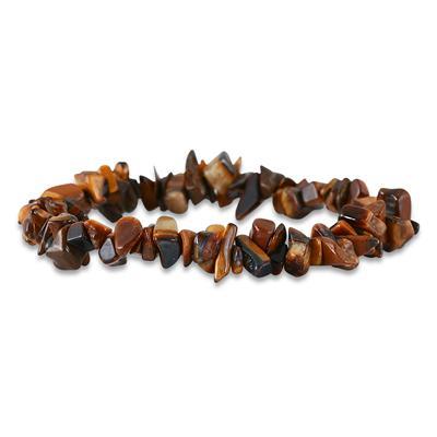 35 Carat All Natural Uncut Genuine Tiger  Bracelet