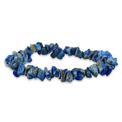 35 Carat All Natural Uncut Genuine Lapis Bracelet
