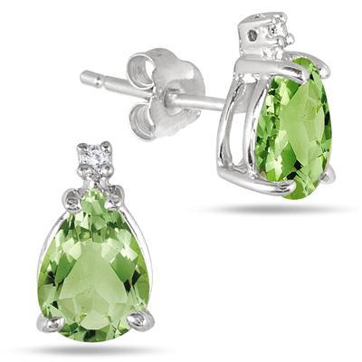 1.40 Ct. Pear Shaped Diamond Earrings
