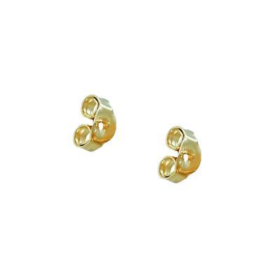 6MM Created Opal Stud Earrings in .925 Sterling Silver