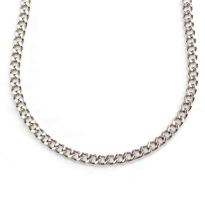 """30"""" Stainless Steel Heavy Curb Link Chain Necklace"""