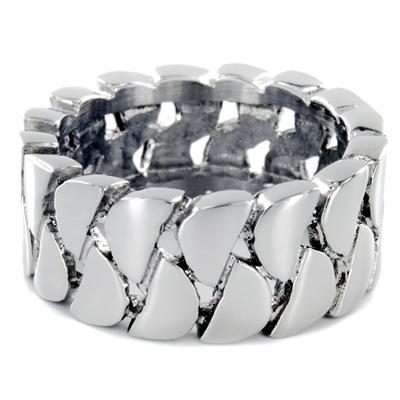 Stainless Steel Interlocking Links Ring