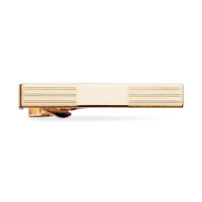 23k Gold Electroplated Tie Clip