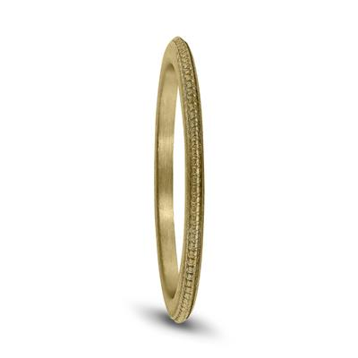 1MM Coin Edge Thin Wedding Band in 14K Yellow Gold