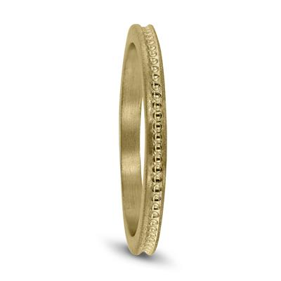 Thin 1.5MM Wedding Band in 14K Yellow Gold
